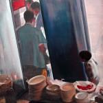 cafeteria-100x100-cms-acrylic-on-canvas
