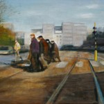 tram-60x80-cms-acrylic-on-canvas
